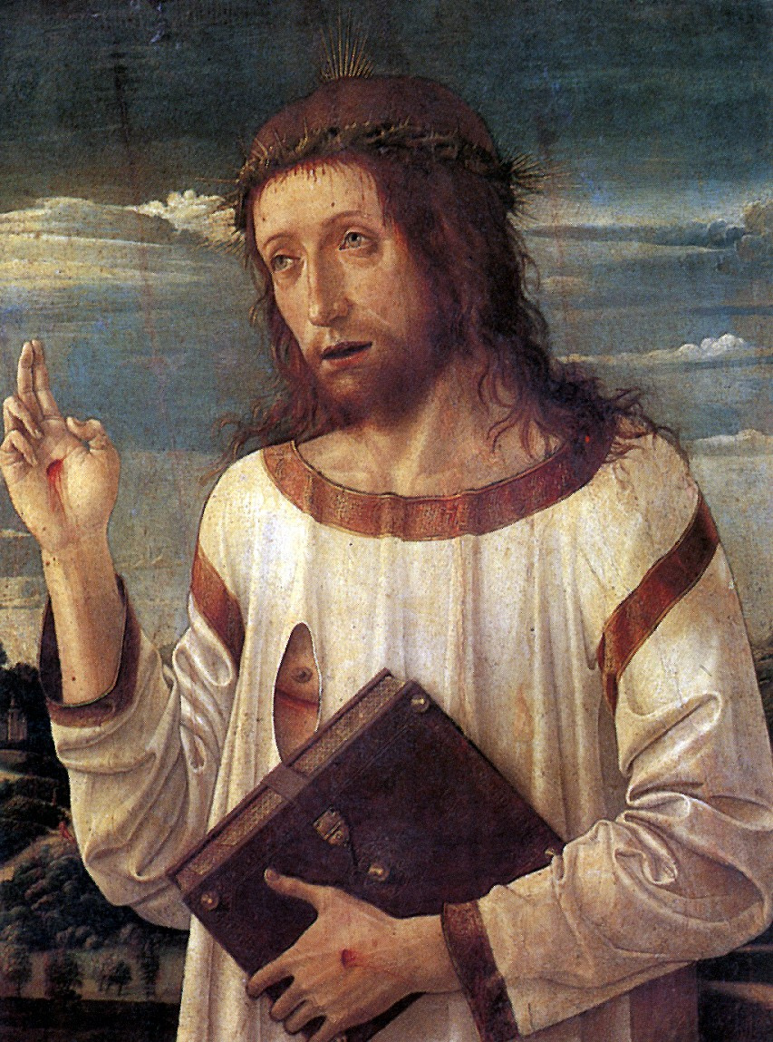 Джованни Беллини. Благословляющий Христос