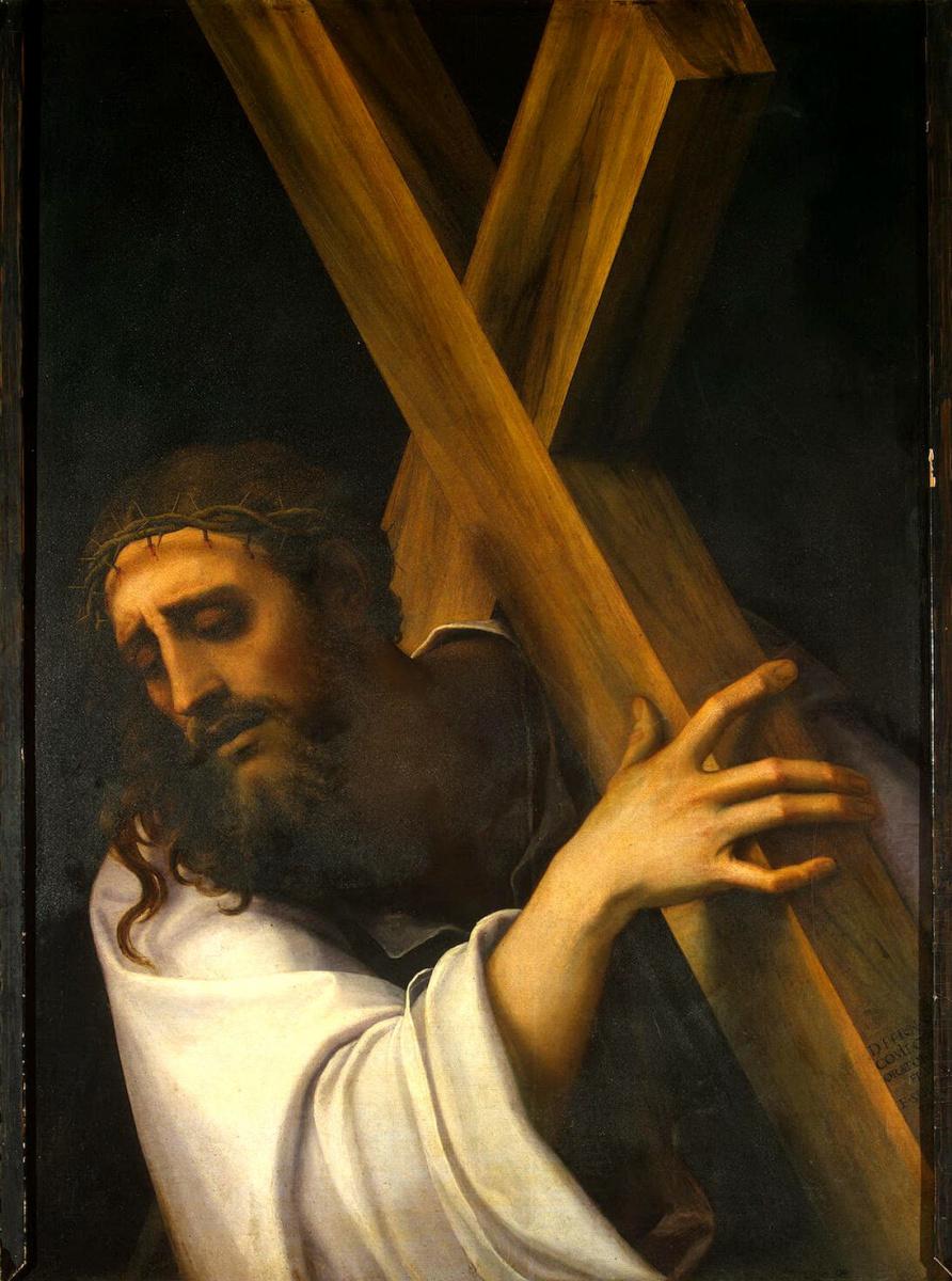 Себастьяно Лучиани. Несение креста