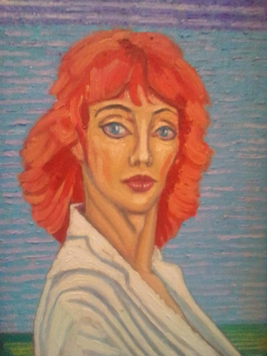 Вячеслав Коренев. Рыжая женщина