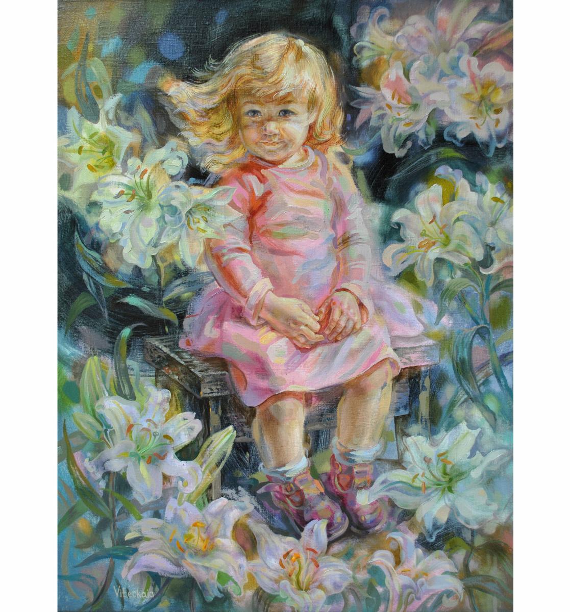 Снежана Казимировна Витецкая Viteckaja. Lily garden