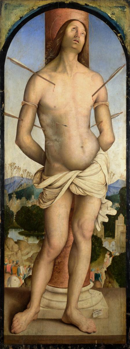 Заганелли Бернардино. Святой Себастьян