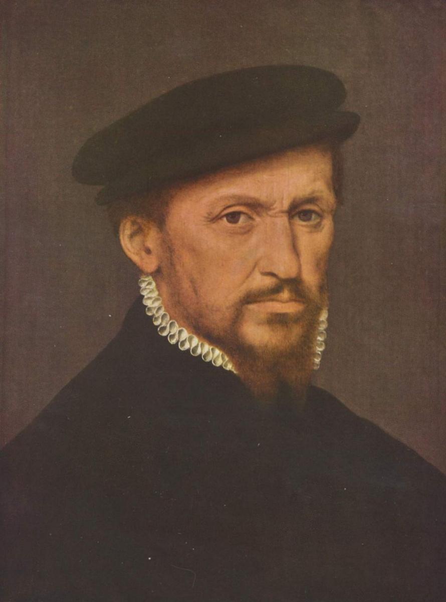 Виллем Кей. Мужской портрет
