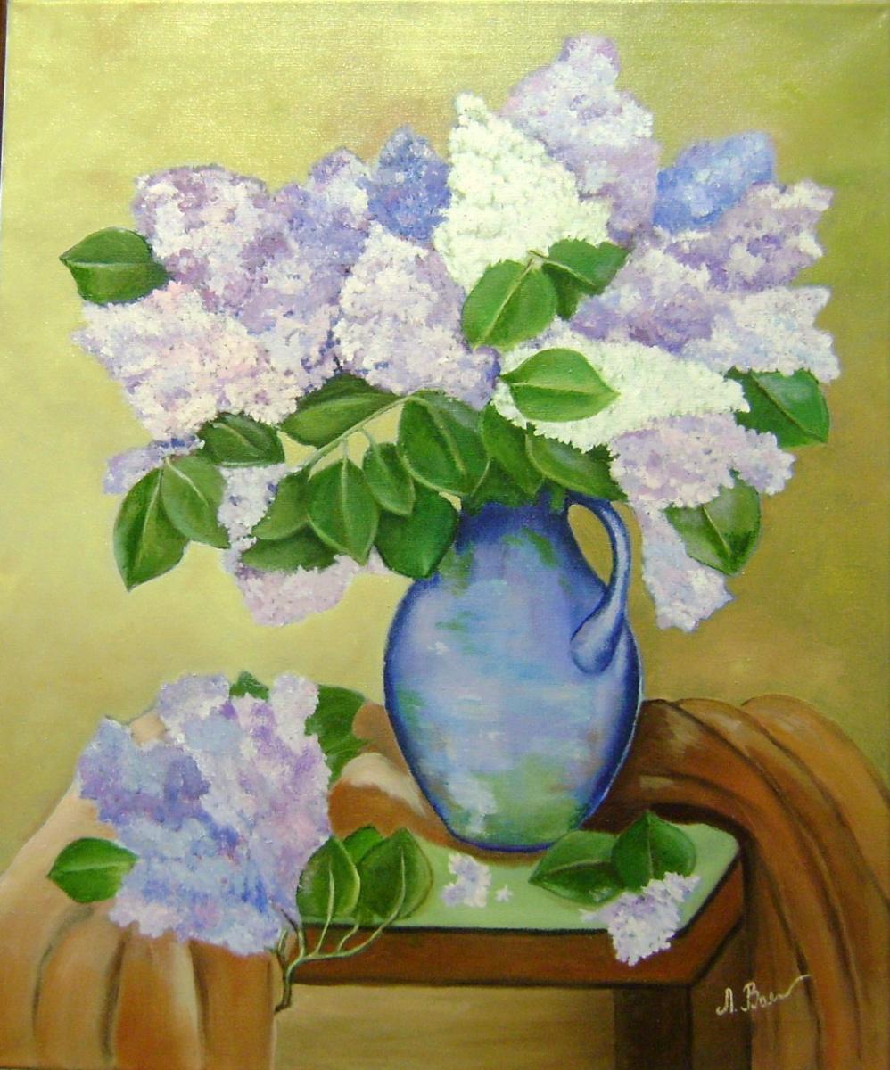Lyubov Viktorovna Volobaeva. Loved by all the lilac