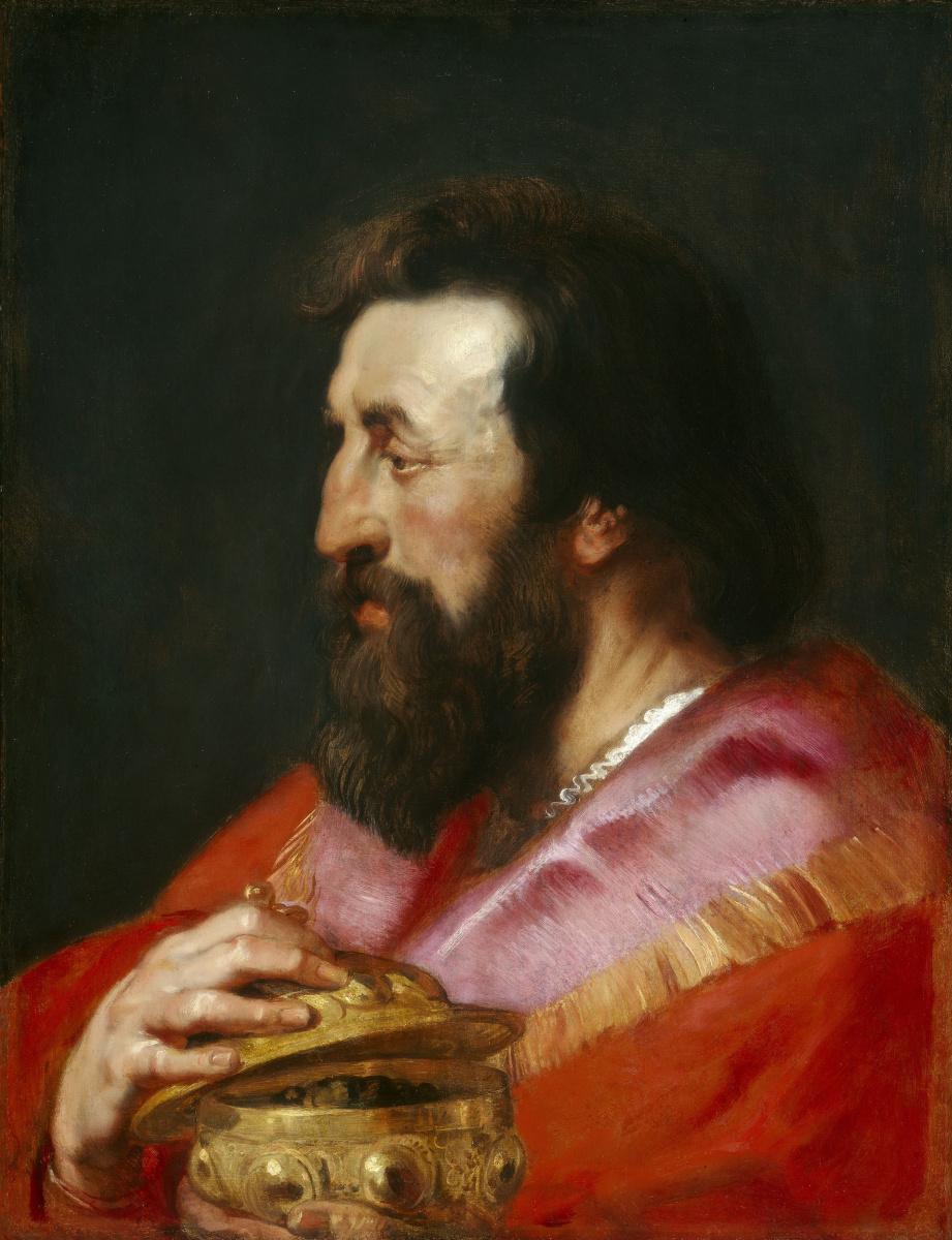 Питер Пауль Рубенс. Один из трех Волхвов (Мельхиор)