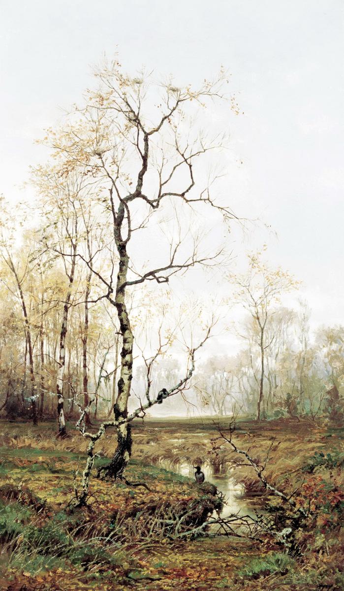 Ефим Ефимович Волков. В лесу. По весне.