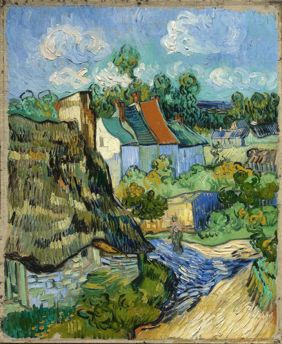 Vincent van Gogh. House in Auvers