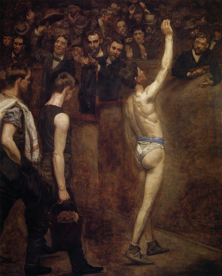 Thomas Eakins. Greeting