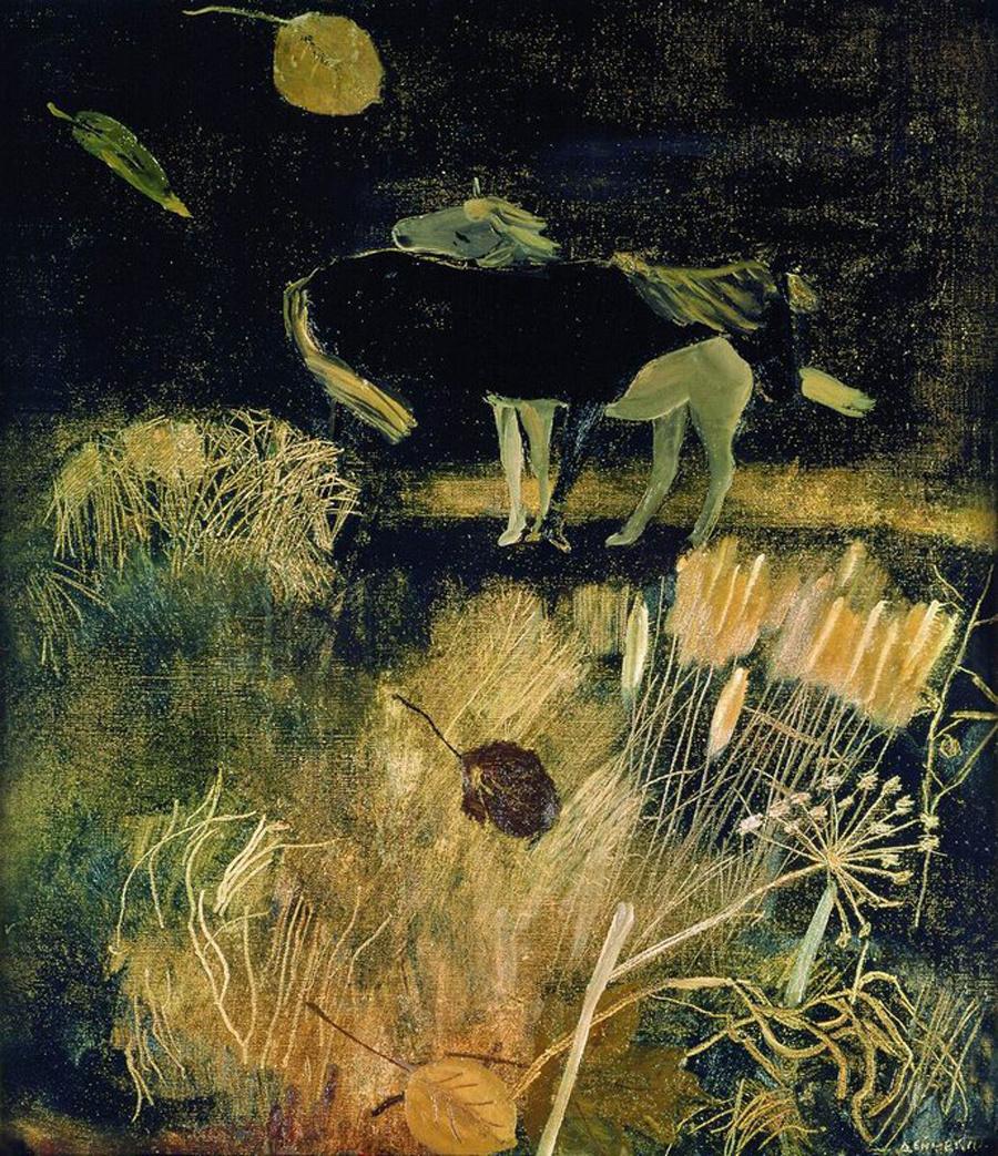 Александр Александрович Дейнека. Ночной пейзаж