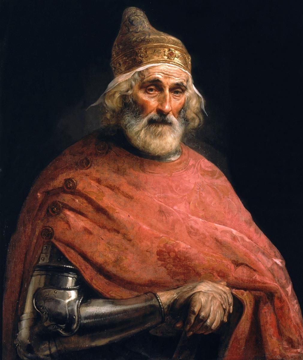 Francesco Ayets. Portrait of Doge Andrea Gritti