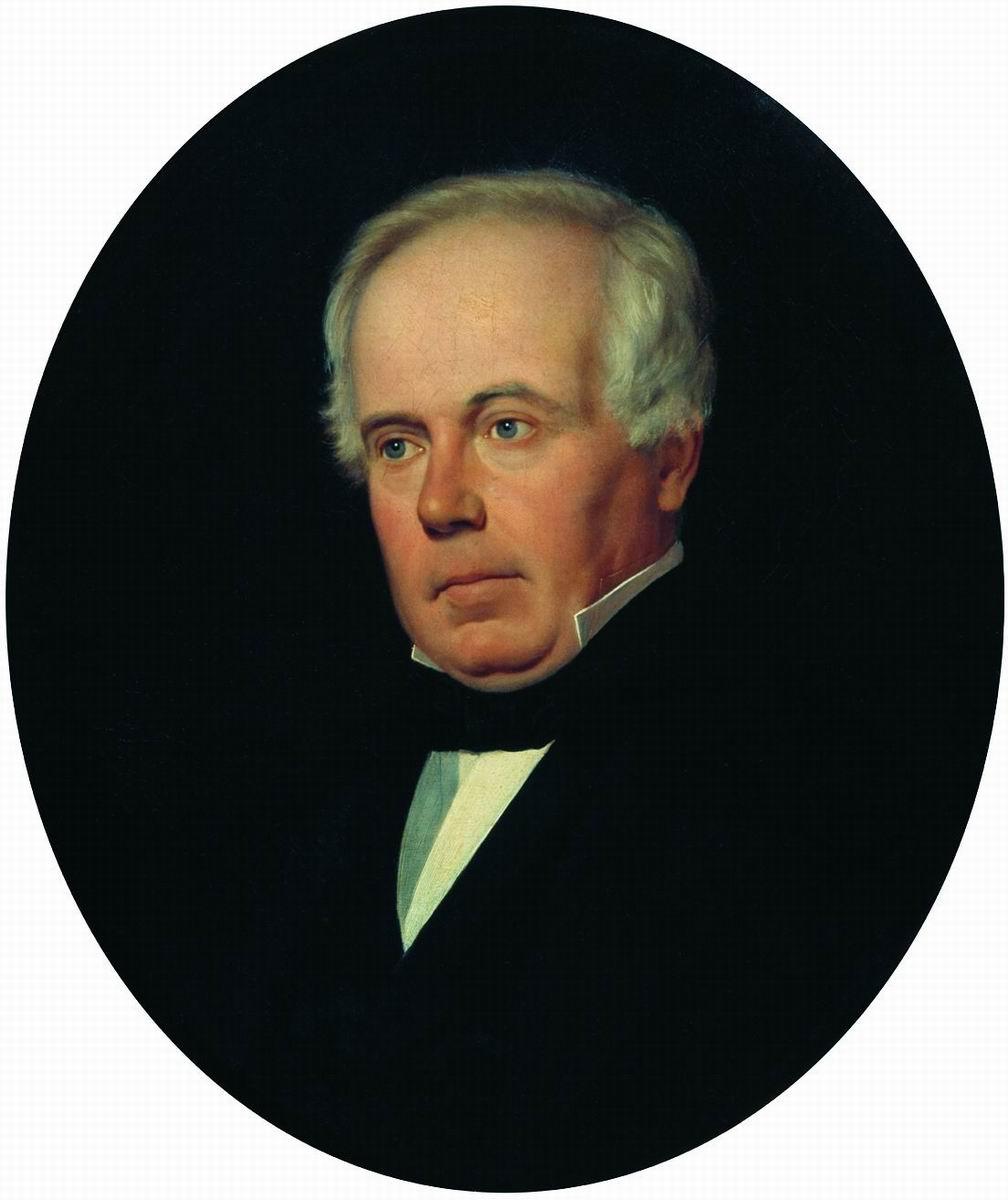 Sergey Konstantinovich Zaryanka. Portrait of an engraver of Professor Fedor Ivanovich Jordan