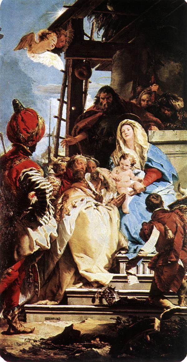 Джованни Баттиста Тьеполо. Поклонение волхвов