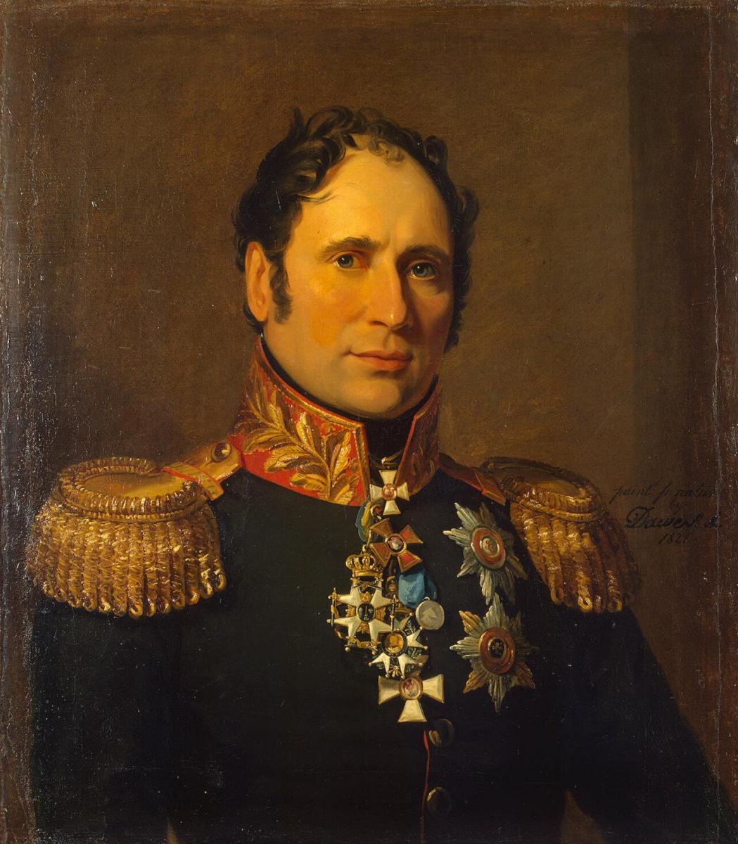 George Dow. Portrait of Karl Ivanovich Opperman