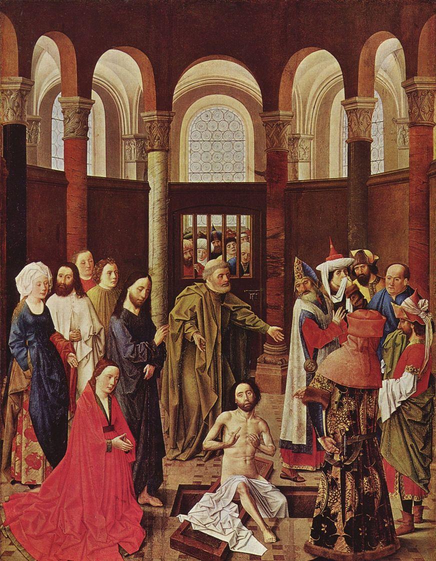 Альберт ван Оуватер. Воскрешение Лазаря