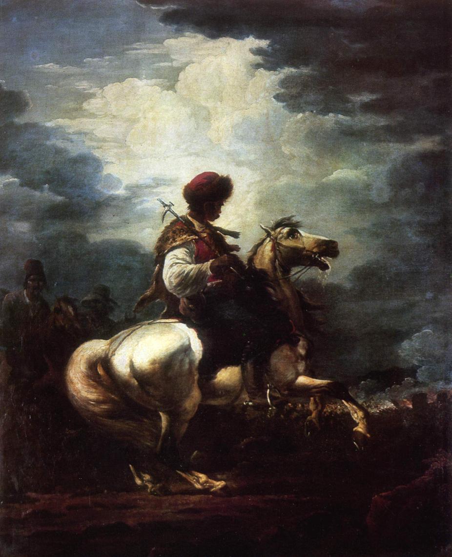 Alexander Osipovich Orlovsky. Rider. Odessa Art Museum, Ukraine