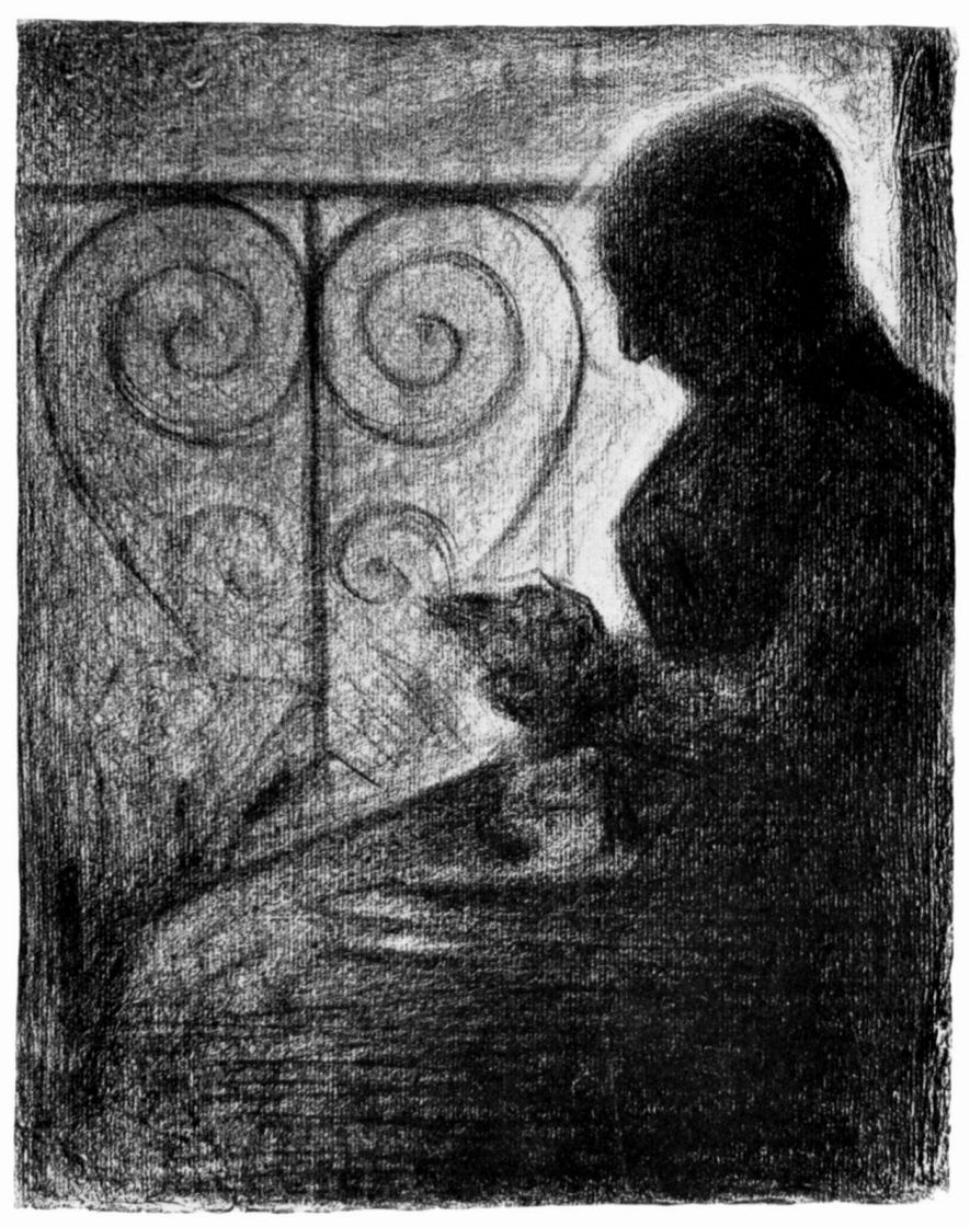 Georges Seurat. From the balcony lattice