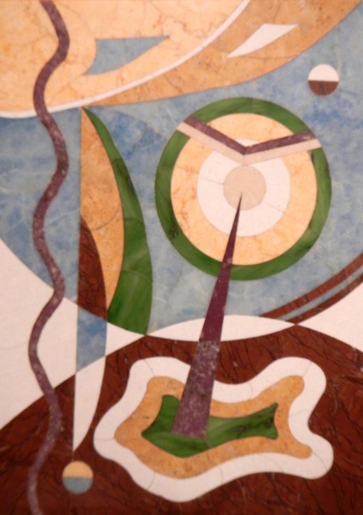 Boris Lazarevich Oshkukov. Regatta, Florentine mosaic