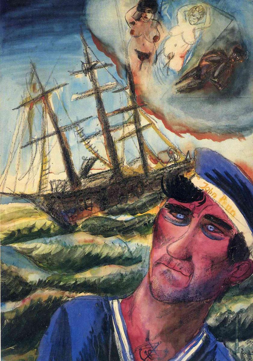 Отто Дикс. Моряк