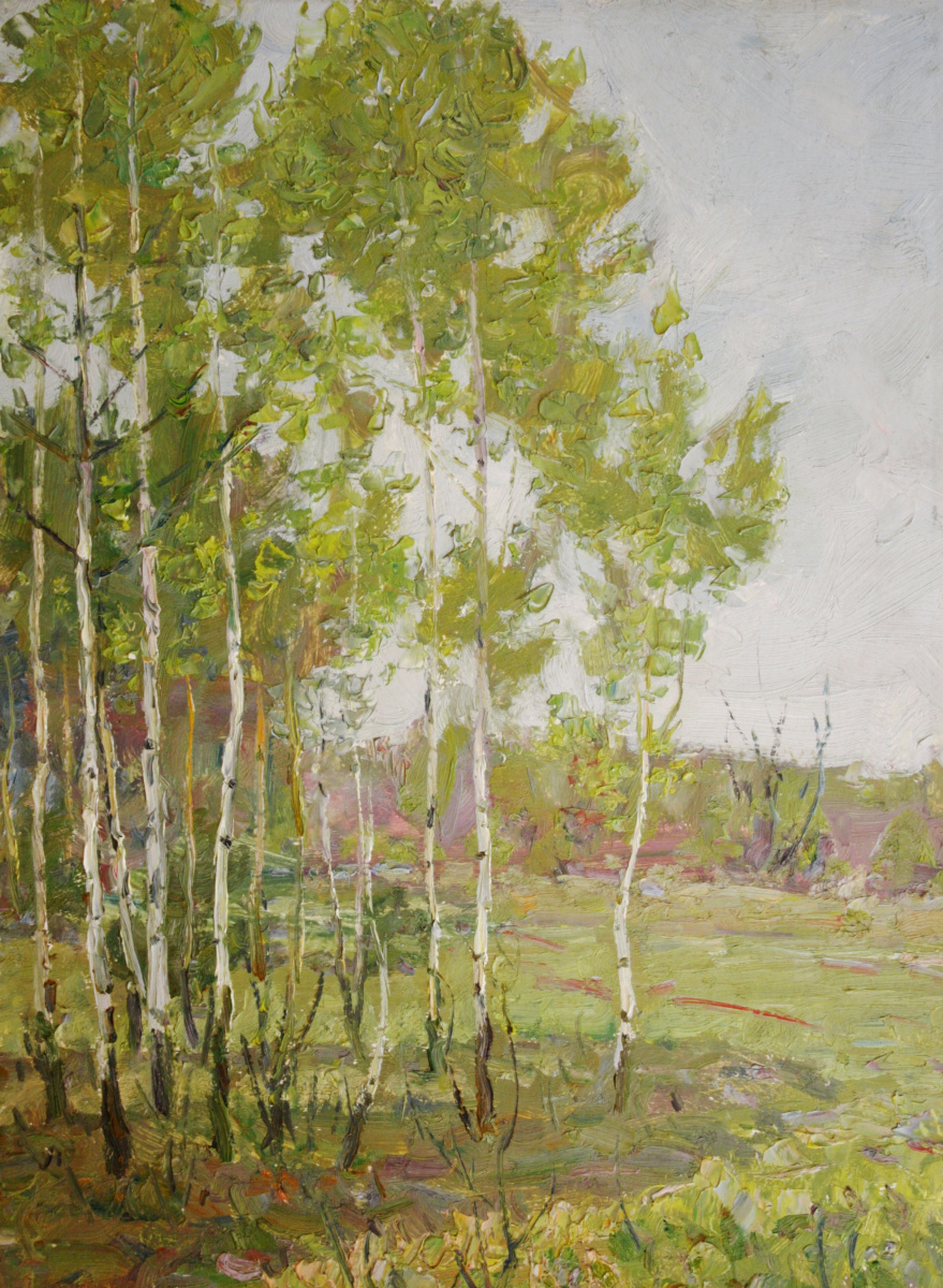 Kommunar Savelievich Berkut. Birch