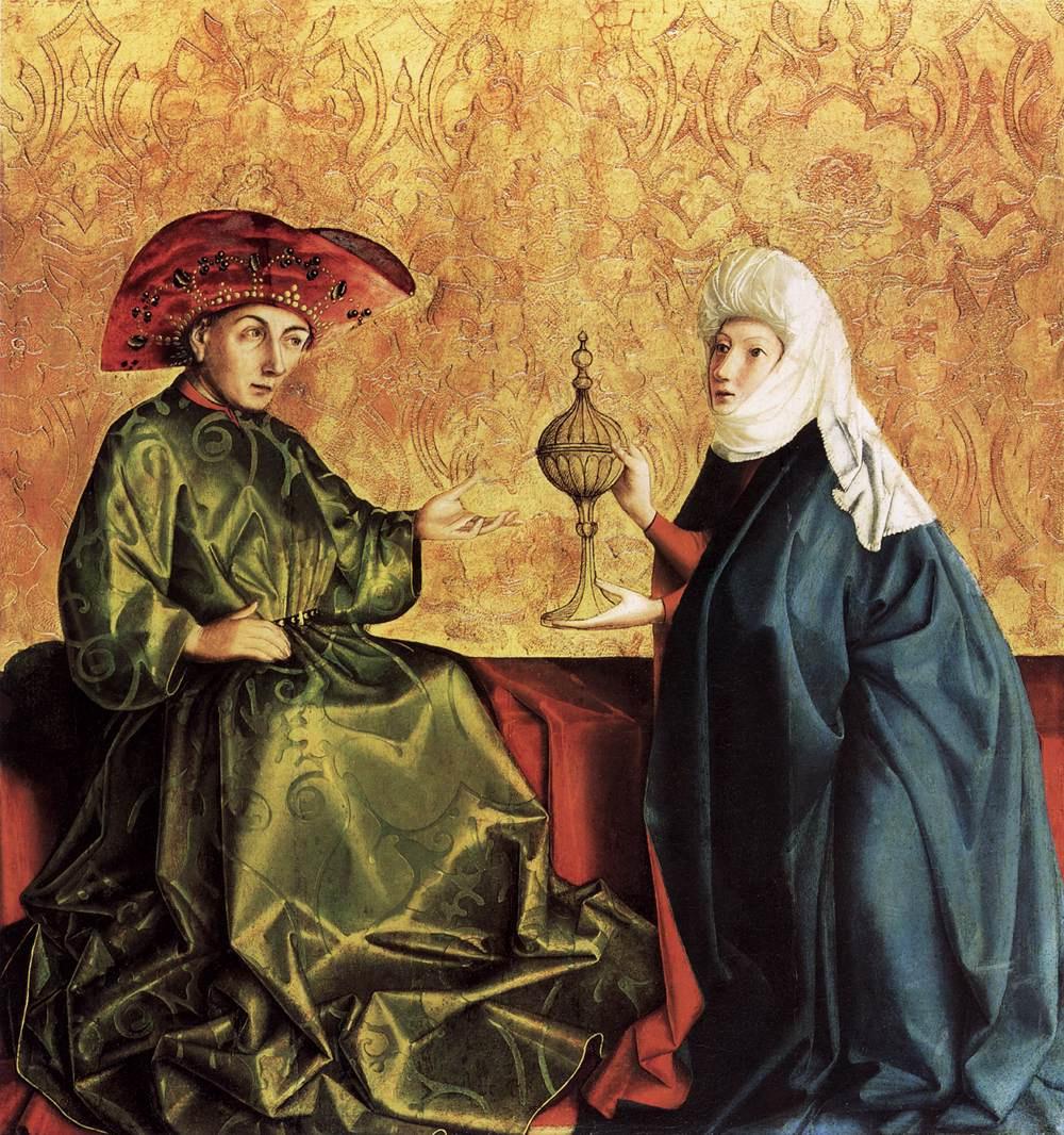 Конрад  (Витц) Виц. Царь Соломон и царица Савская