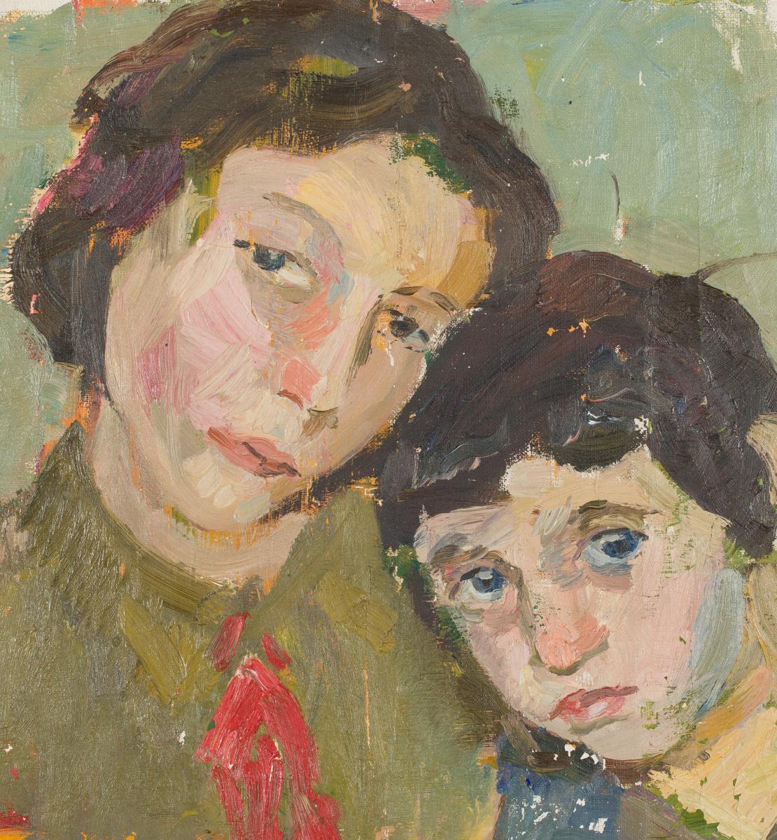 Mark Grigorievich Weinstein. Portrait of sisters