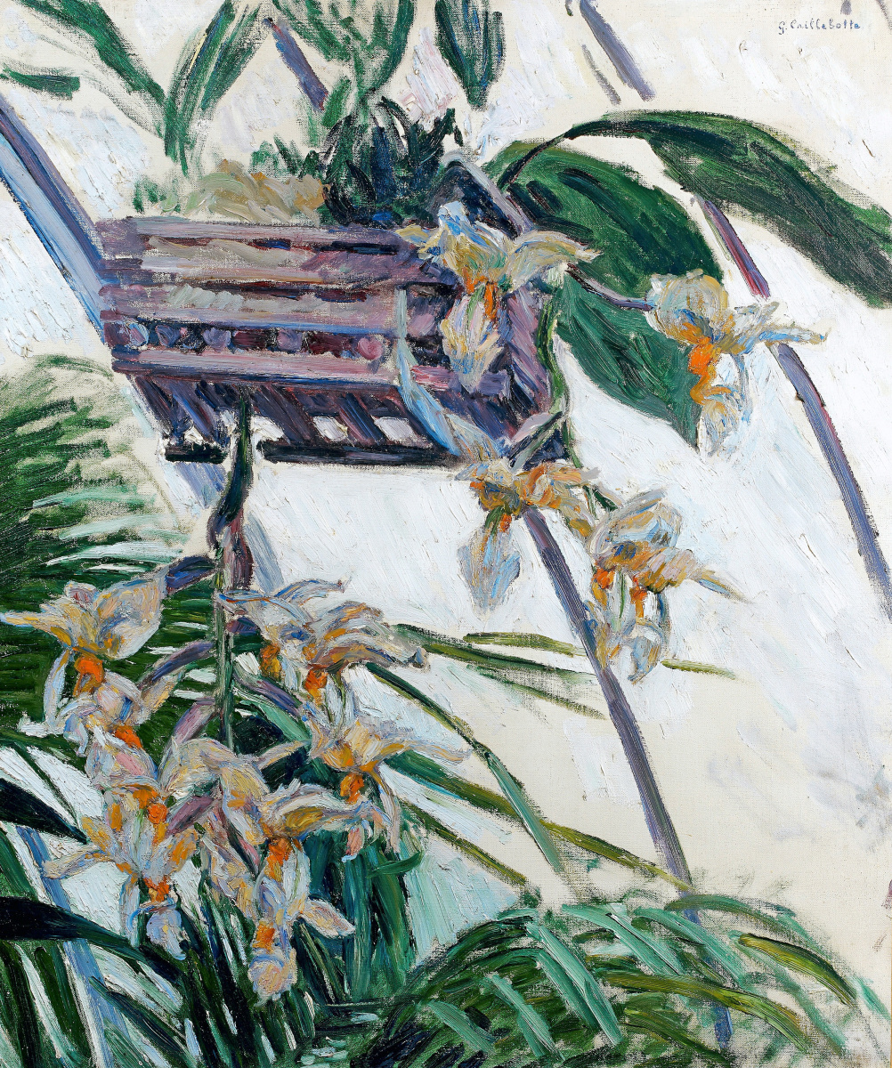 Gustave Caillebotte. Orchids
