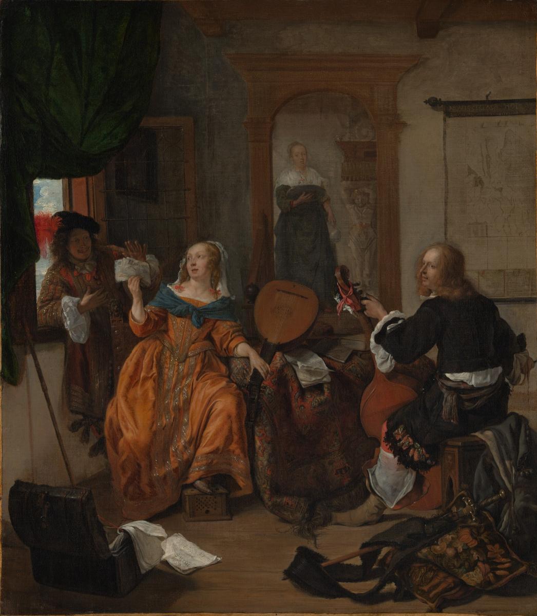 Gabrielle Metsu. Music party