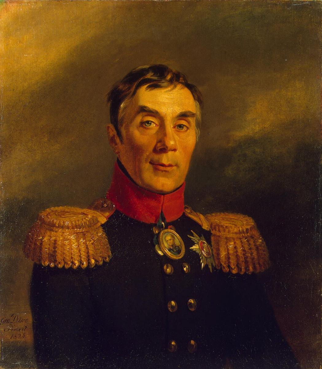 Джордж Доу. Портрет Алексея Андреевича Аракчеева
