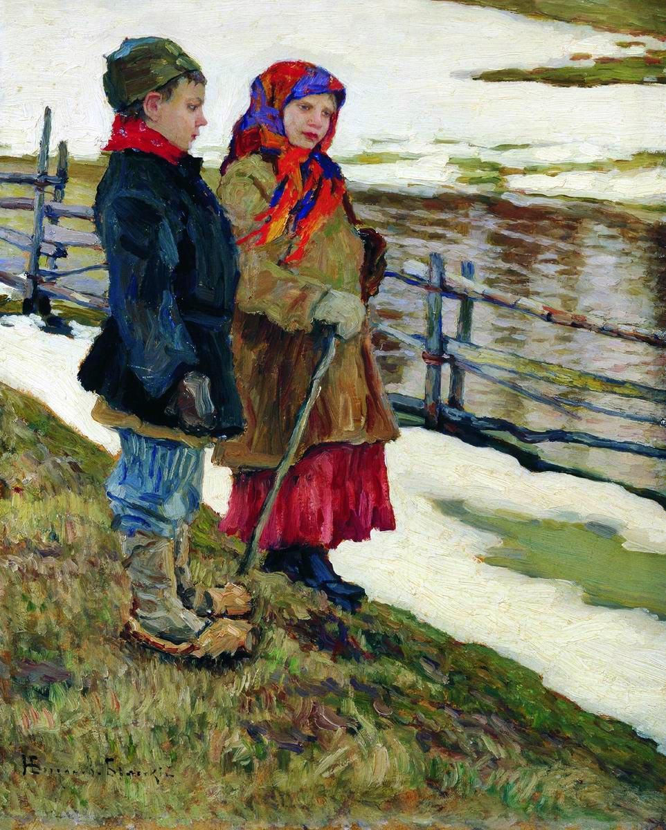 Nikolay Petrovich Bogdanov-Belsky. Peasant children