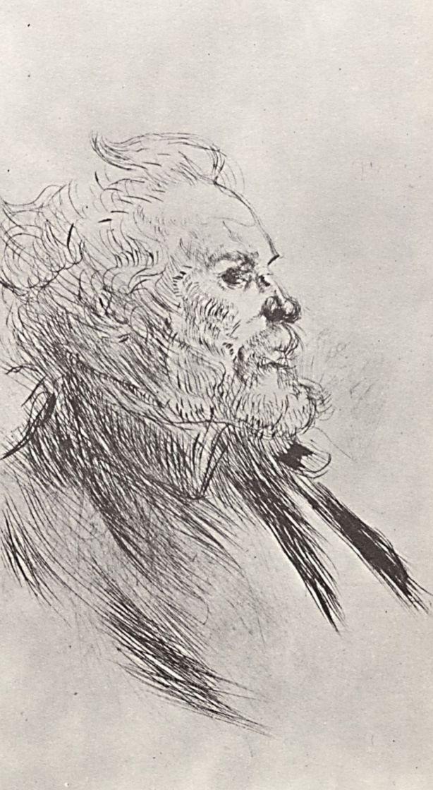 Анри де Тулуз-Лотрек. Портрет живописца и гравера Шарля Морена