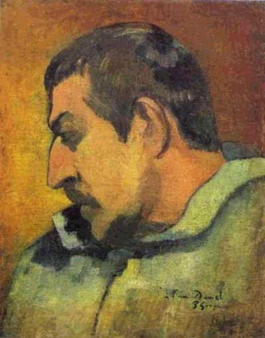 Поль Гоген. Автопортрет