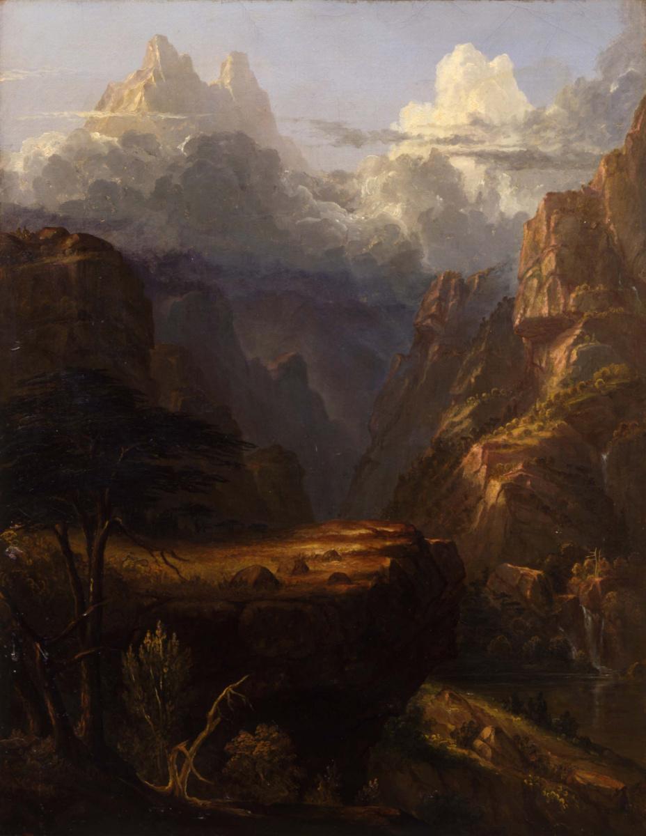 Томас Коул. Горный пейзаж