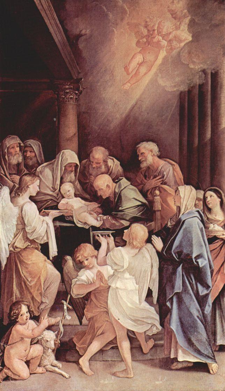 Гвидо Рени. Обрезание Христа