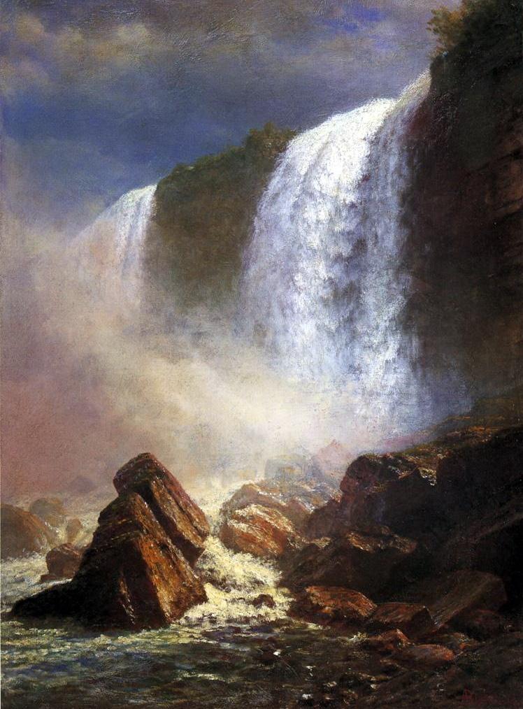 Альберт Бирштадт. Водопад Ниагара