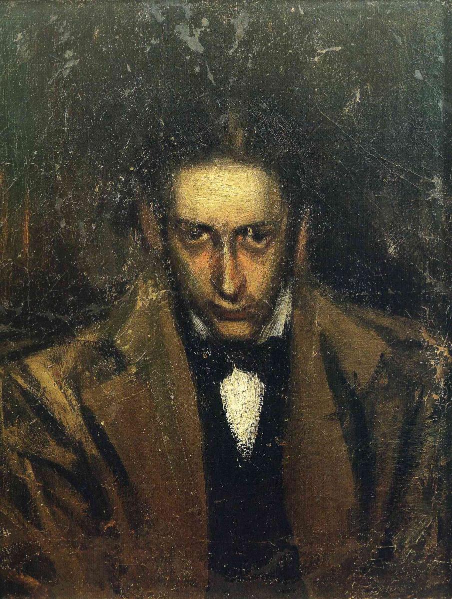 Пабло Пикассо. Портрет Карлоса Касагемаса