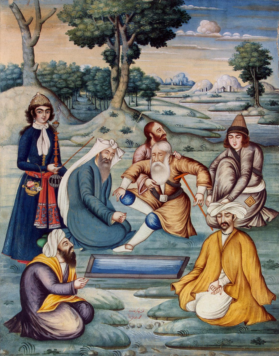 Мухаммад-Риза Ирвани. Купание в целебной воде