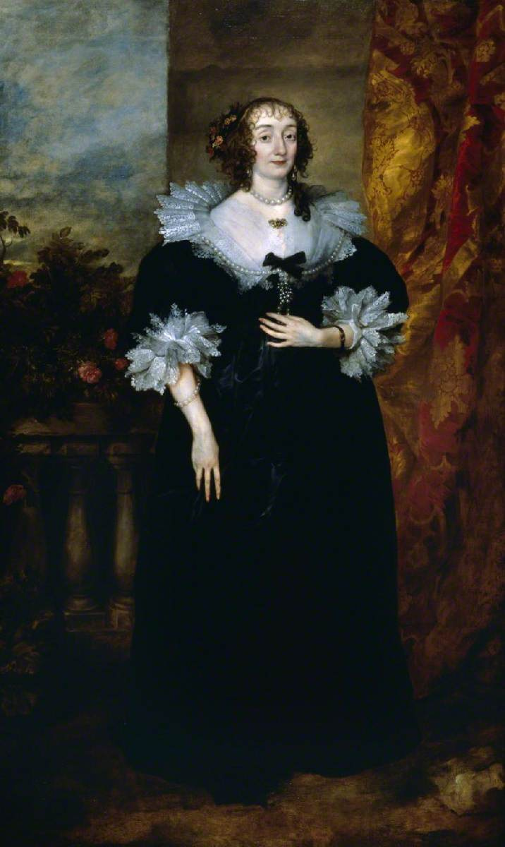 Anthony van Dyck. Katherine Manners, Duchess of Buckingham