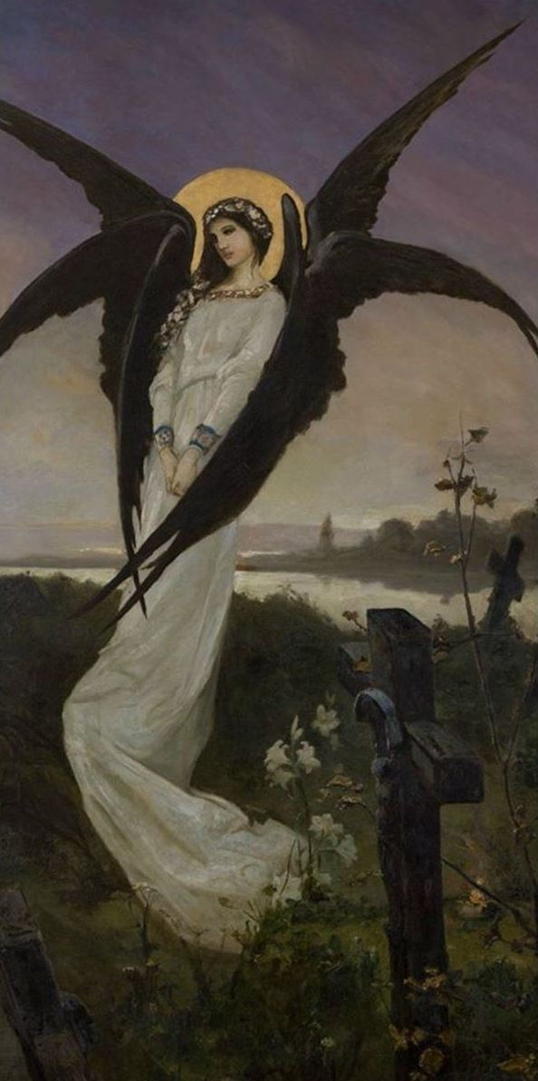 Вильгельм Александрович Котарбинский. Ангел грусти (Ангел смерти)
