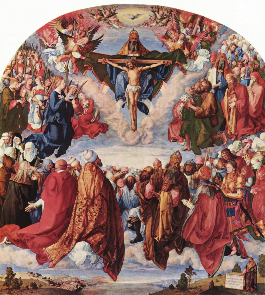 Альбрехт Дюрер. Праздник всех святых