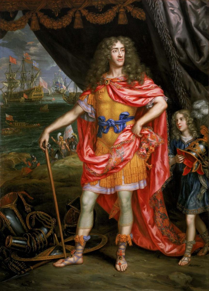Анри Гаскар. Портрет Джеймса, герцога Йоркского