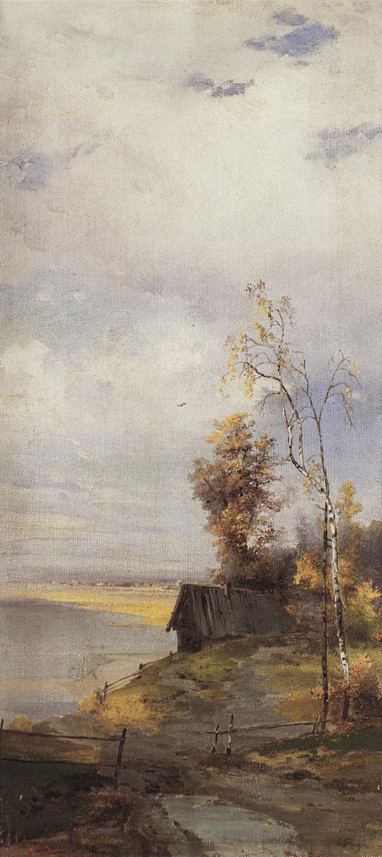 Алексей Кондратьевич Саврасов. Пейзаж с домиком