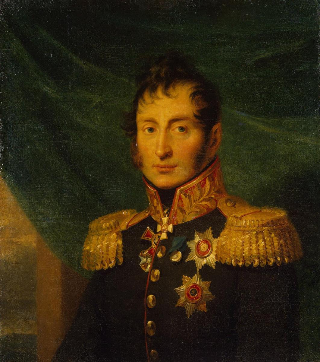 George Dow. Portrait of Nikolai Alekseevich Tuchkov