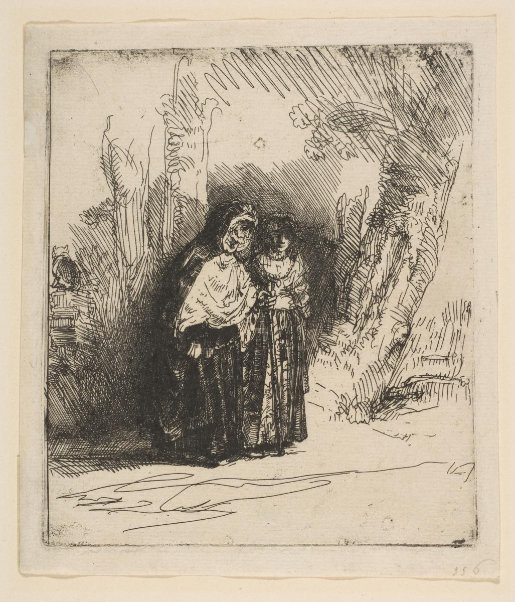 Рембрандт Харменс ван Рейн. Испанские цыганки (Прециоза)