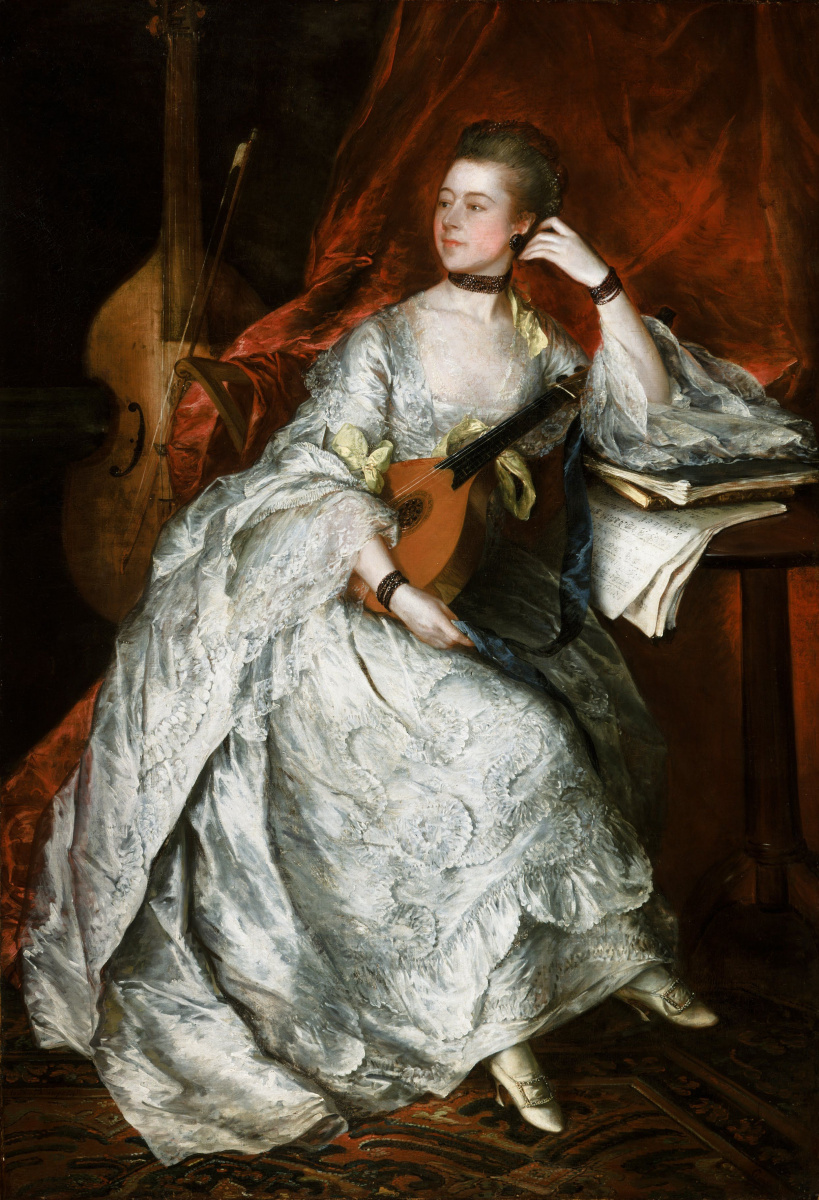 Thomas Gainsborough. Ann Ford (later Mrs. Philip Thickness)