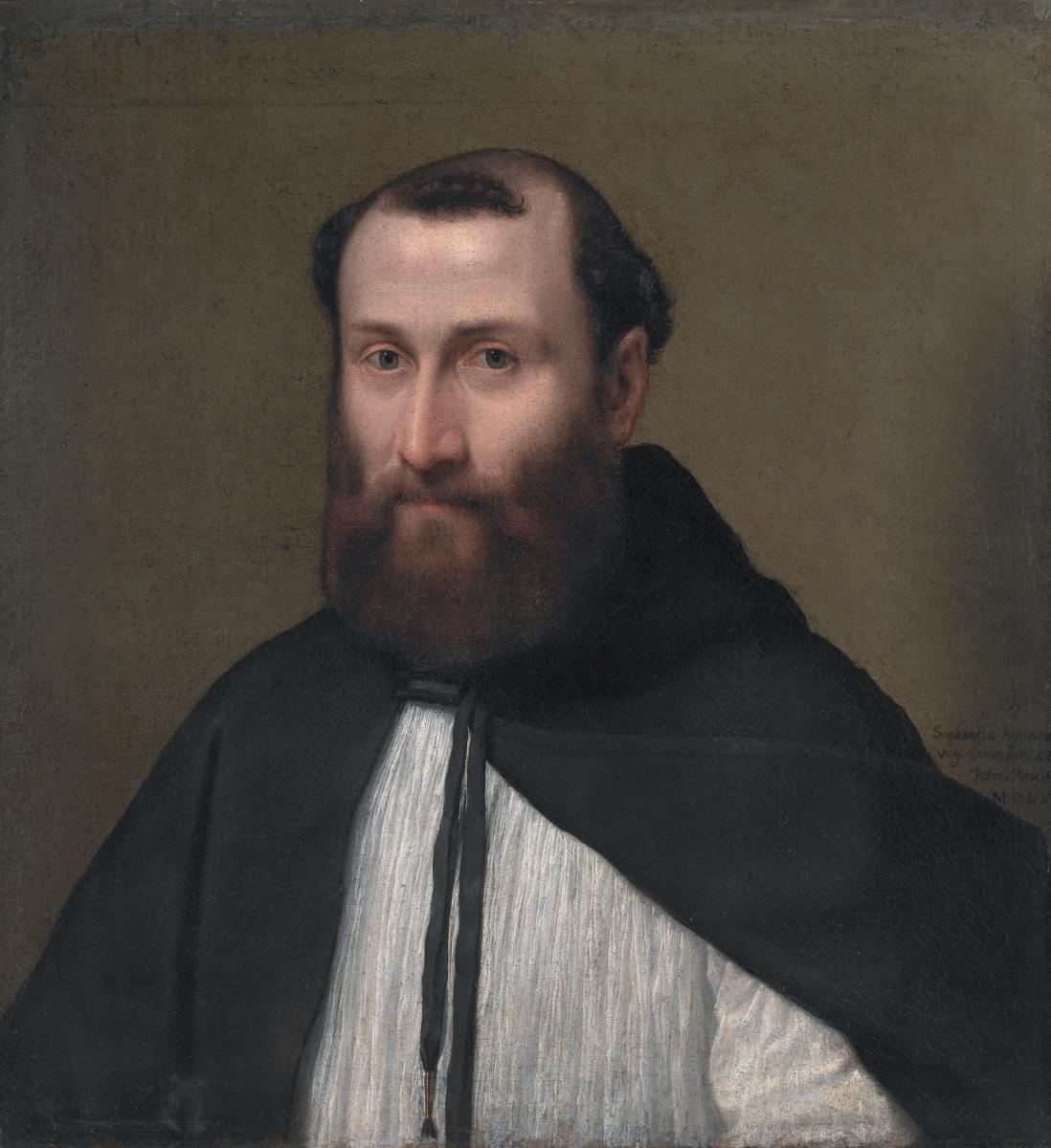 Sofonisba Angisola. Portrait of canon