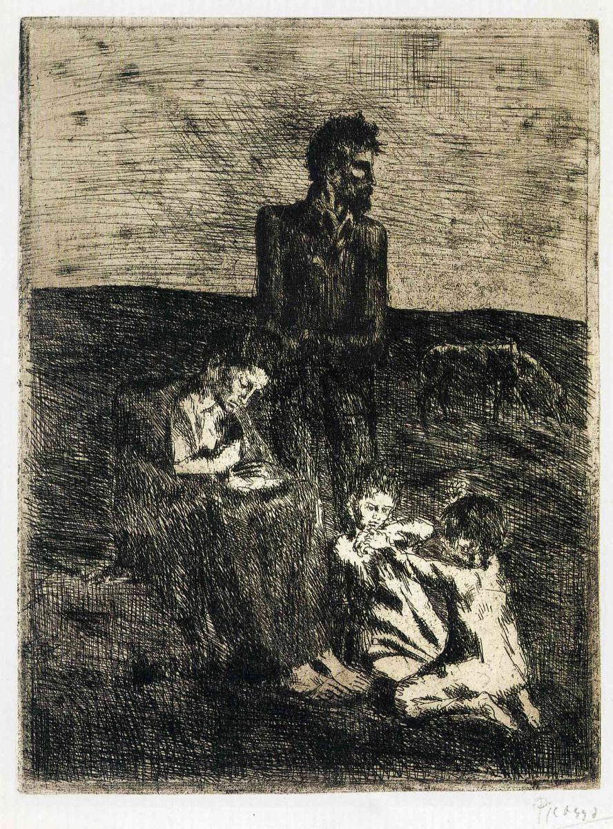 Пабло Пикассо. Семья