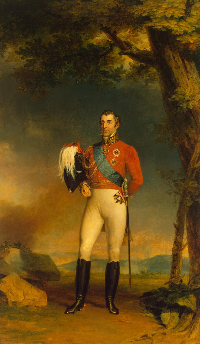 Джордж Доу. Портрет герцога Веллингтона