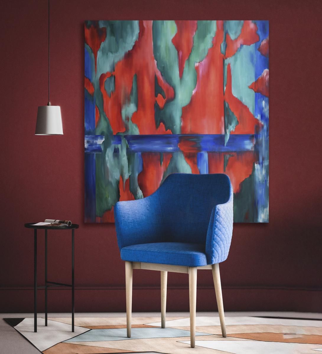 FUSION - original oil painting