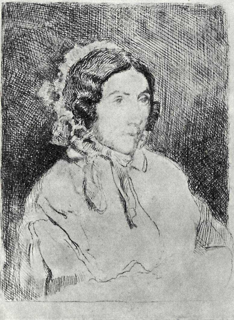 Эдгар Дега. Женский портрет