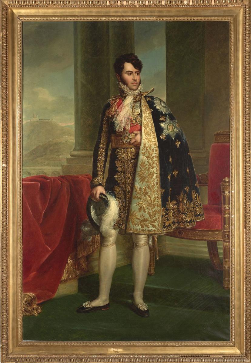 Франсуа Паскаль Симон Жерар. Портрет князя Камилло Боргезе