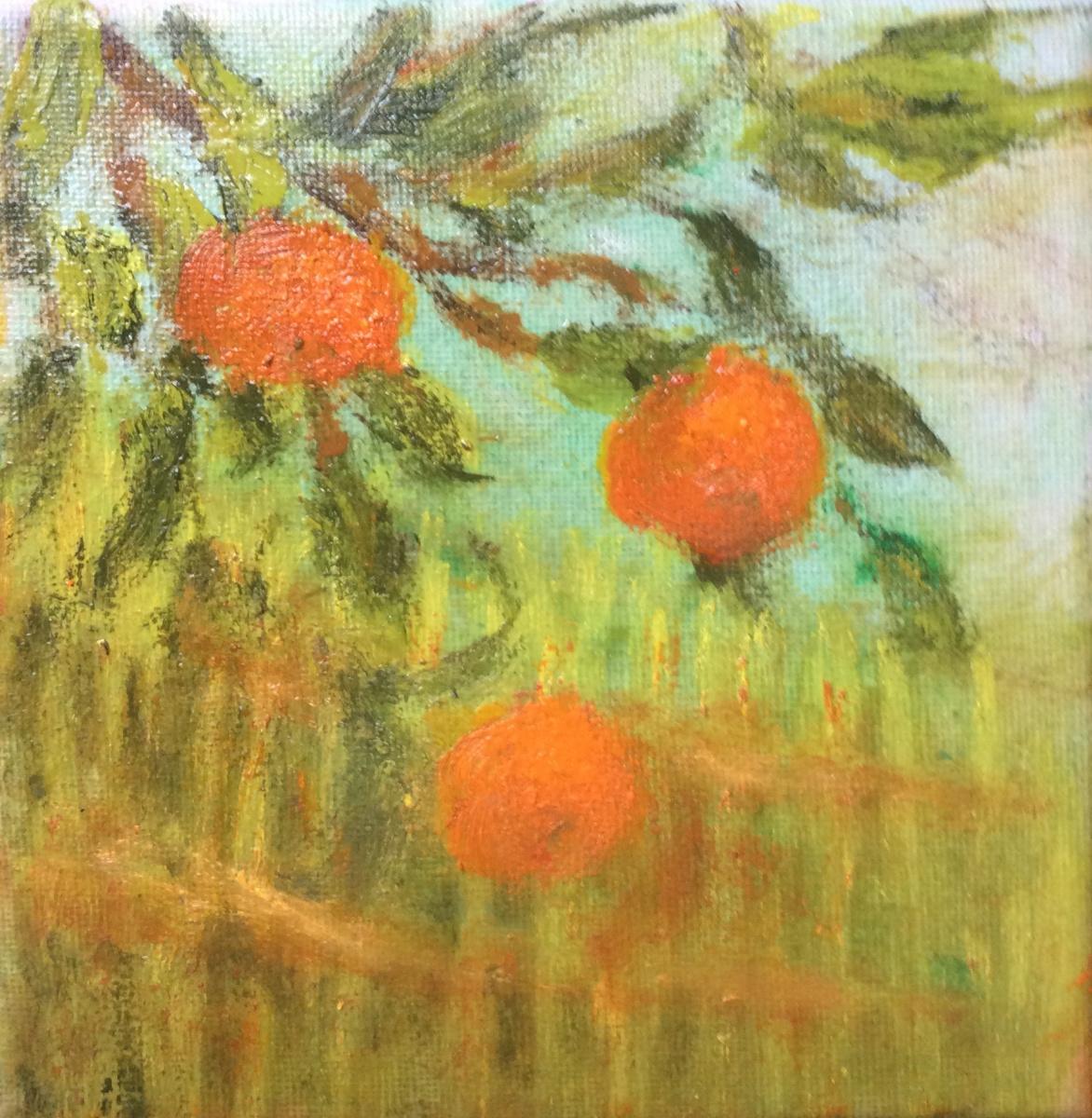 Rita Arkadievna Beckman. Curious tangerine